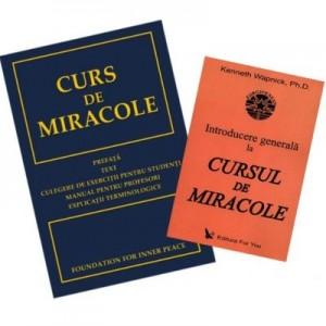 Pachet Introducere generala la Cursul de miracole si Curs de miracole