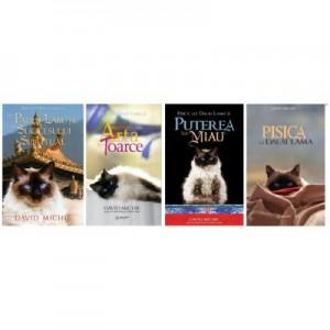 Colectia Pisica lui Dalai Lama - Set 4 volume, autor David Michie