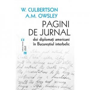 Pagini de jurnal - W. S. Culbertson, A. M. Owsley