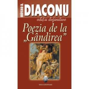 Poezia de la Gandirea - Mircea A. Diaconu