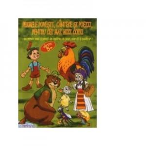 Primele povesti, cantece si poezii pentru cei mai mici copii (varsta 5+) - Lucia Cocisiu