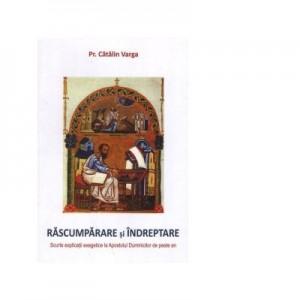 Rascumparare si indreptare. Scurte explicatii exegetice la Apostolul Duminicilor de peste an - Catalin Varga