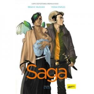 Saga 1- Brian K. Vaughan, Fiona Staples