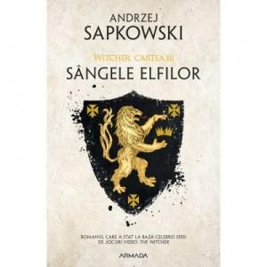Sangele elfilor. Seria Witcher, partea a III-a - Andrzej Sapkowski