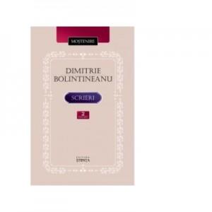 Scrieri. Volumul II. Proza. Insemnari de calatorie - Dimitrie Bolintineanu