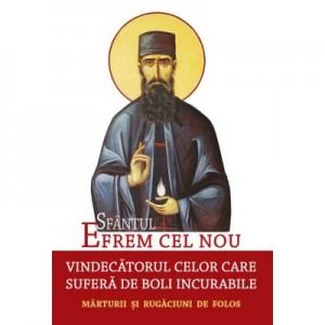 Sfantul Efrem cel Nou, vindecatorul celor care sufera de boli incurabile. Marturii si rugaciuni de folos