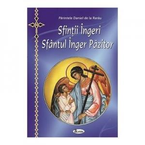 Sfintii Ingeri. Sfantul Inger Pazitor (format mic) - Ierodiacon Paraschiv Cleopa
