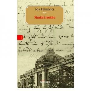 Simtiri rostite - Ion Petrovici