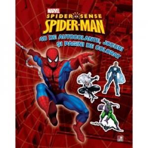 Spider-Man. 40 de autocolante, jocuri si pagini de colorat - Marvel