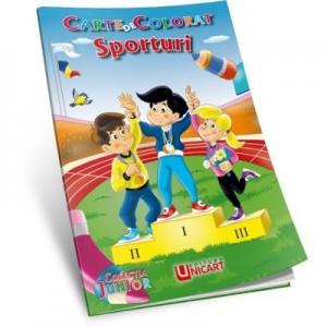 Sporturi. Carte de colorat - C. Hariet