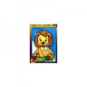 Leul. Carte de colorat