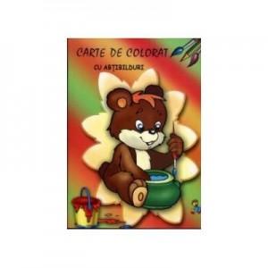 Ursuletul (Carte de colorat cu abtibilduri)