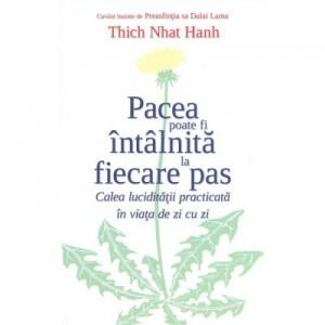 Pacea poate fi intalnita la fiecare pas. Calea luciditatii practicata in viata de zi cu zi - Thich Nhat Hanh