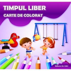 Carte de colorat. Timpul Liber - Adina Grigore