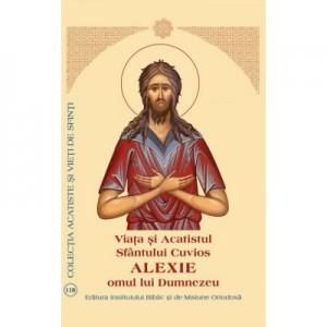 Viata si Acatistul Sfantului Cuvios Alexie, omul lui Dumnezeu