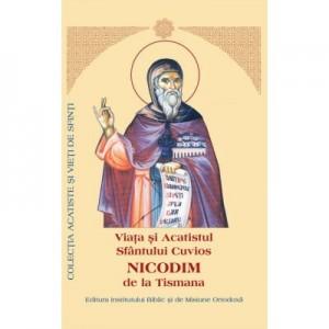 Viata si Acatistul Sfantului Cuvios Nicodim de la Tismana