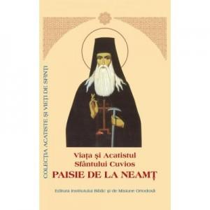Viata si Acatistul Sfantului Cuvios Paisie de la Neamt