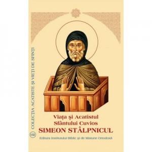 Viata si Acatistul Sfantului Cuvios Simeon Stalpnicul